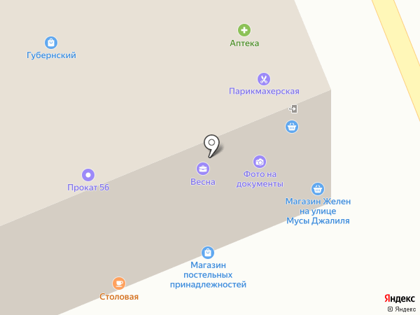 Prokat.56 на карте Оренбурга