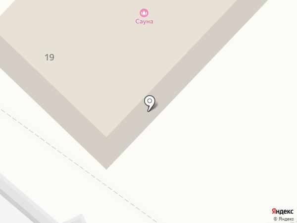 Автомойка на карте Оренбурга
