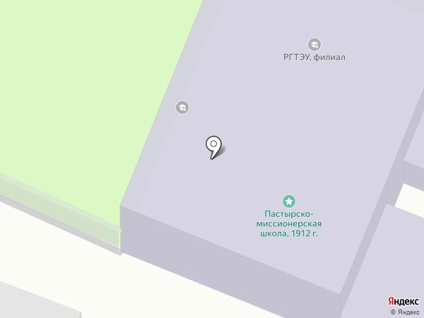 Российский экономический университет им. Г.В. Плеханова на карте Оренбурга