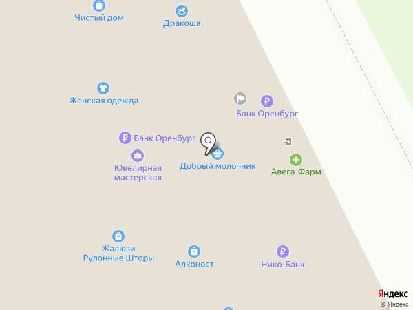 ЗООград на карте Оренбурга
