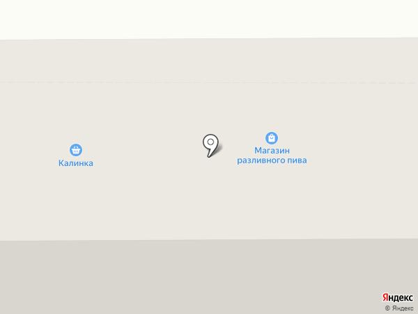 Магазин разливного пива на карте Оренбурга
