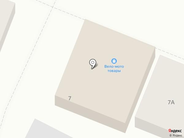 Веломотоцентр на карте Оренбурга