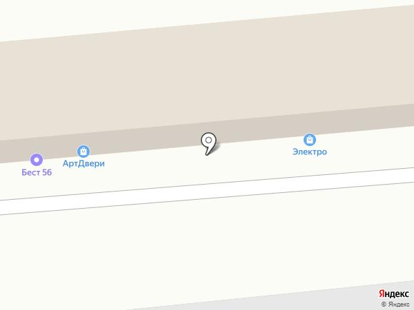 Центр Сантехники на карте Оренбурга