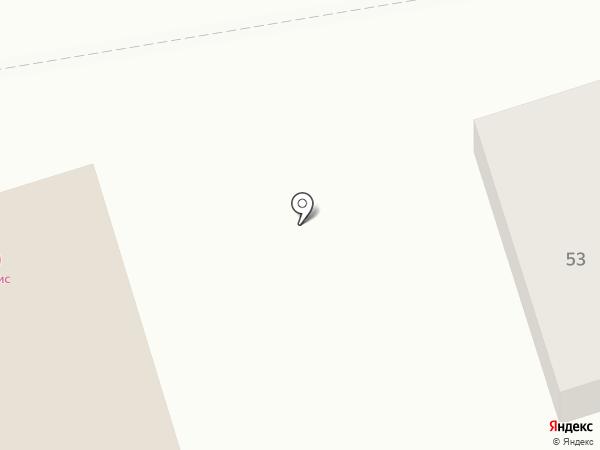 Гримерка на карте Оренбурга
