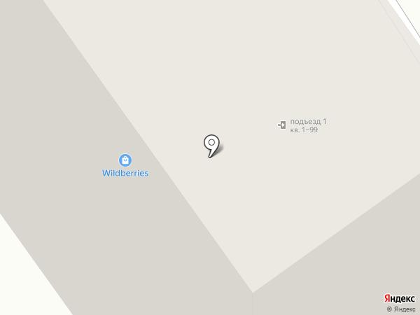 Печатный дворик на карте Оренбурга