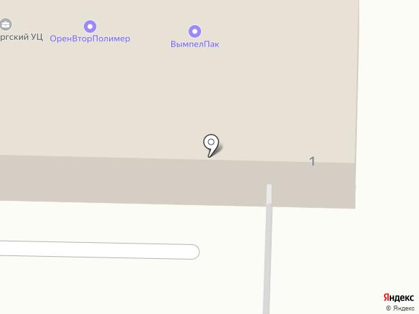 Магазин на карте Оренбурга