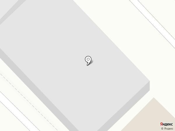 Дэу Моторс Оренбург на карте Оренбурга