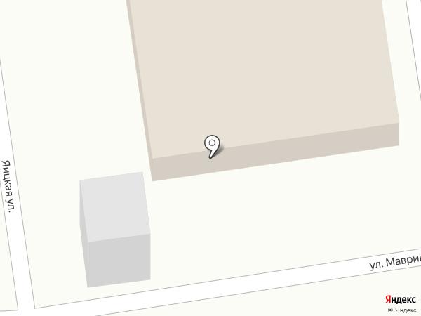 Участковый пункт полиции на карте Оренбурга