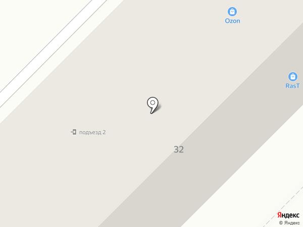 Птицефабрика Гайская на карте Оренбурга