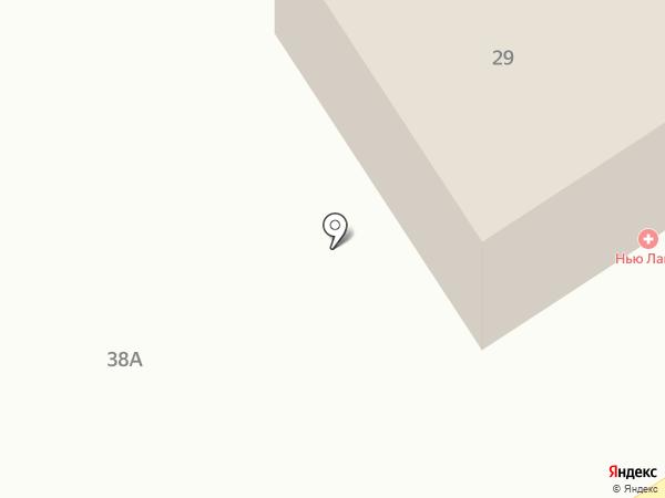 Нью Лайф на карте Оренбурга
