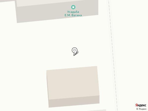 Шашлычная №1 на карте Оренбурга