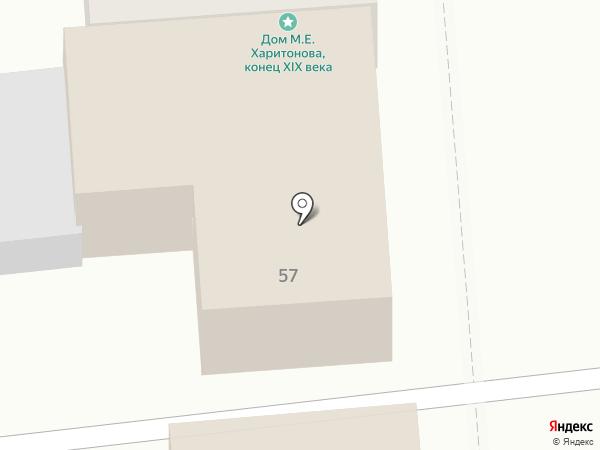 Кружка на карте Оренбурга