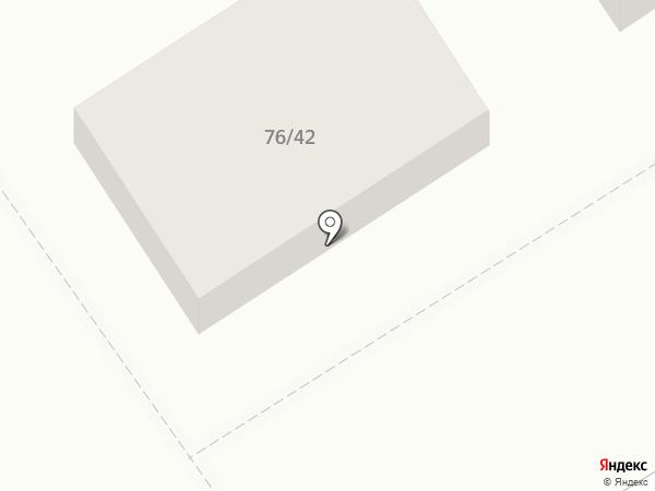 Щедрая горница на карте Оренбурга