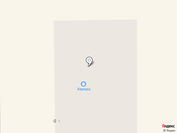 Аврора на карте Оренбурга