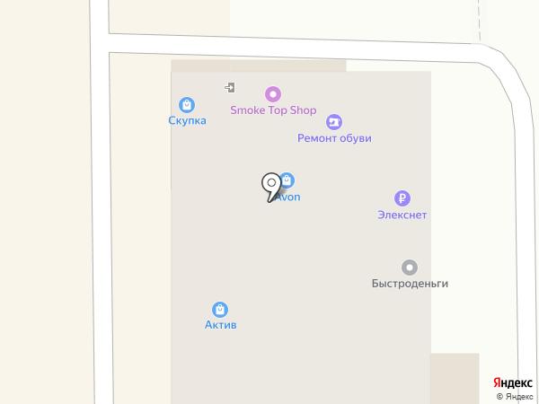 Актив на карте Оренбурга