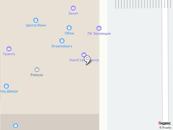 ОБОЙки на карте Оренбурга