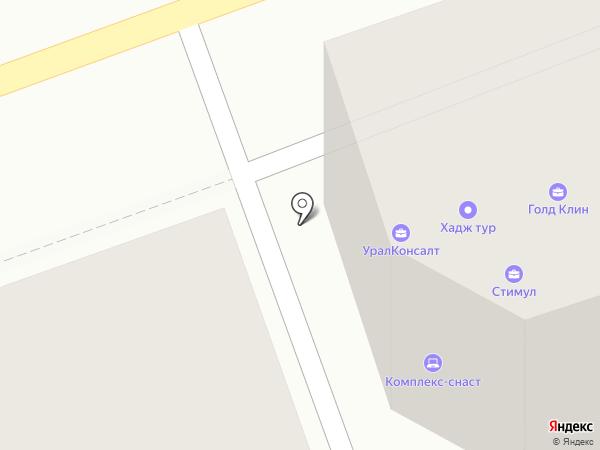 Электрощит-Самара на карте Оренбурга