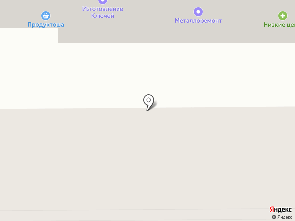 Продуктоша на карте Оренбурга