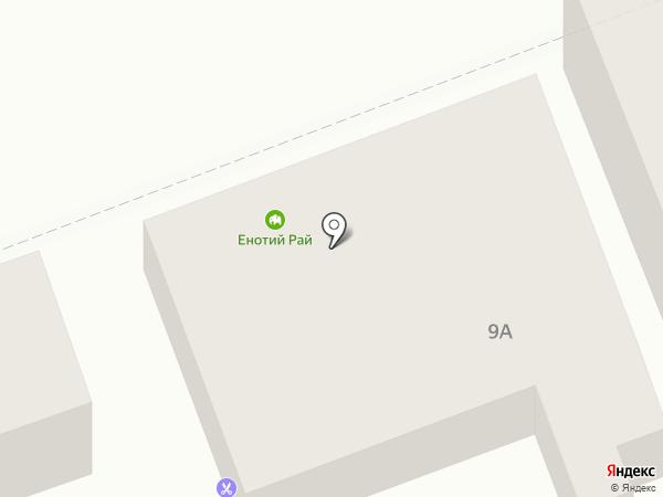 Одри на карте Оренбурга