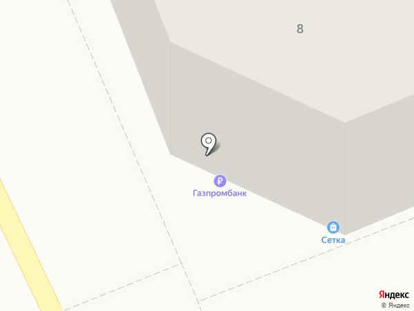 Розетка на карте Оренбурга