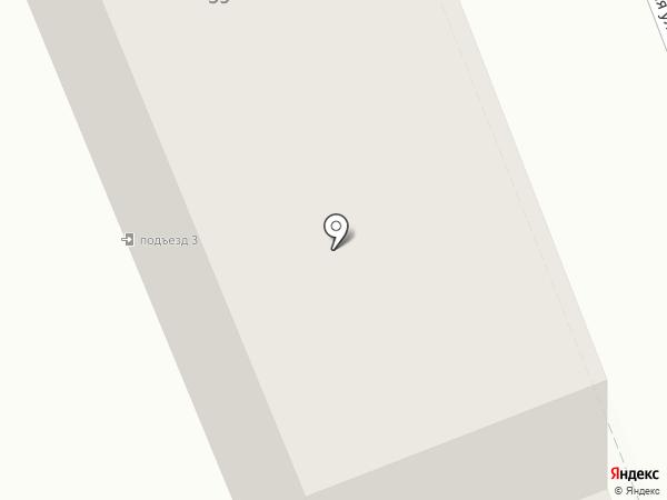 Уголовно-исполнительная инспекция на карте Оренбурга