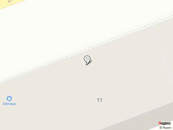 Оптика на Кирова на карте Оренбурга