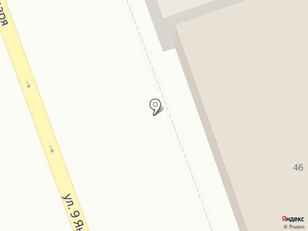 Коробейники на карте Оренбурга
