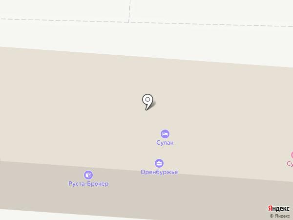 БАРСКАЯ ОТРАДА на карте Оренбурга