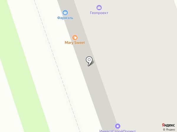 Автодок на карте Оренбурга
