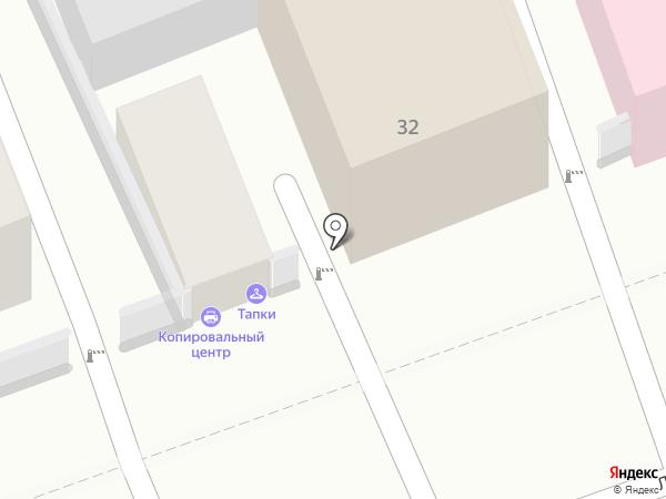 Шафран на карте Оренбурга
