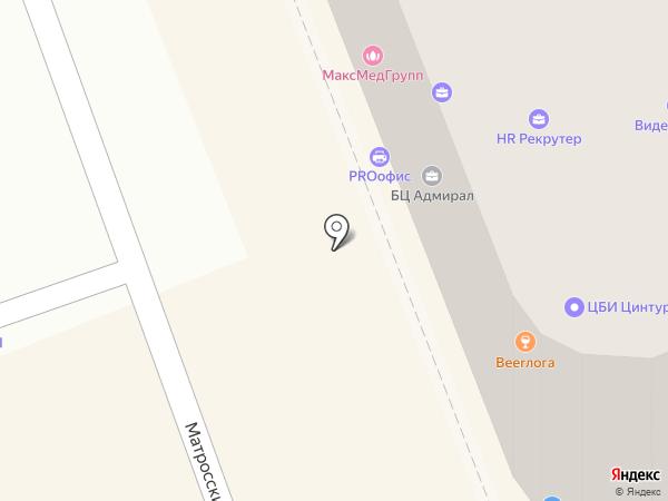 Оренбургское бюро юридических услуг на карте Оренбурга