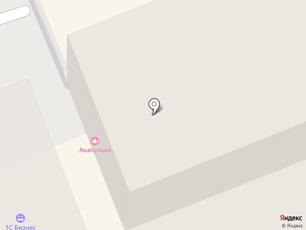 Акапулько на карте Оренбурга