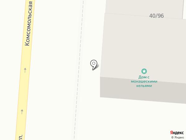 Колыбель на карте Оренбурга