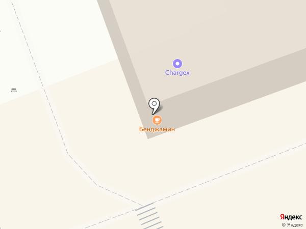 Бенджамин на карте Оренбурга