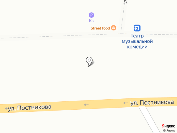 Закусочная на карте Оренбурга