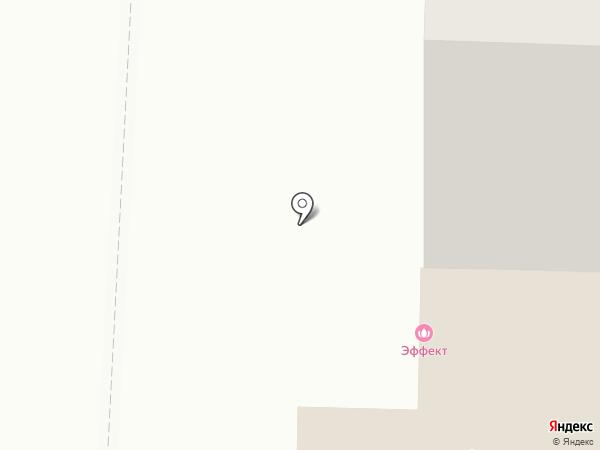 Эффект на карте Оренбурга
