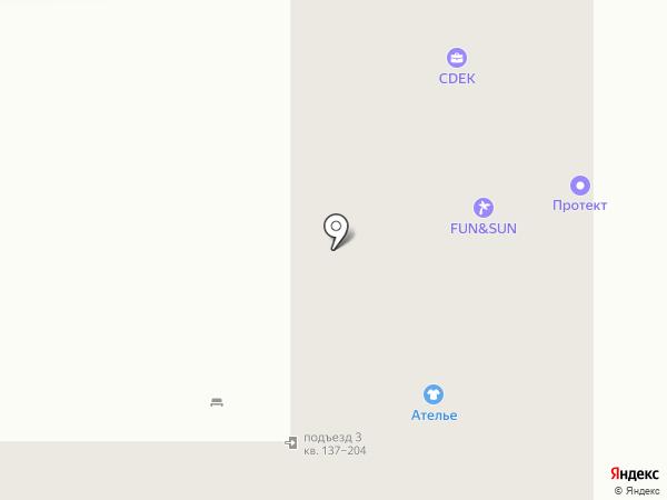 Гранат на карте Оренбурга