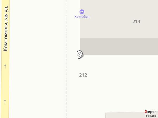 Хоттабыч на карте Оренбурга