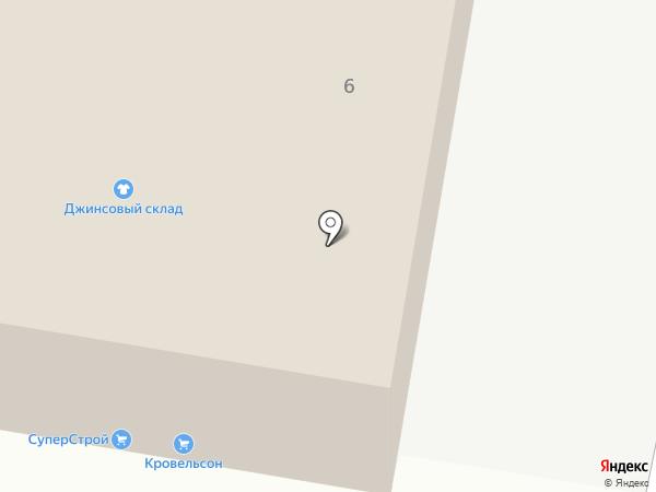 Экобург на карте Оренбурга
