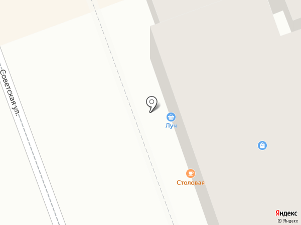 Восточка на карте Оренбурга