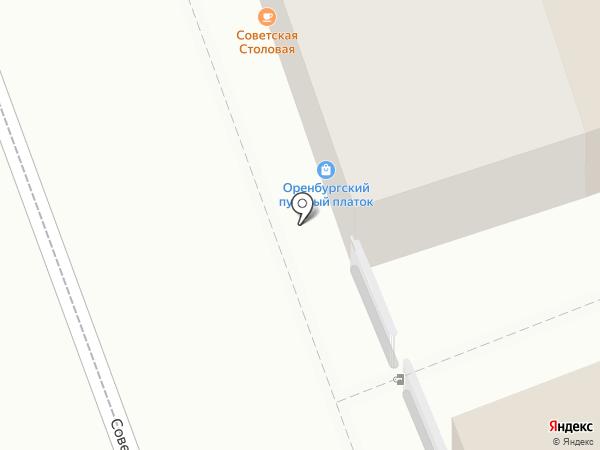 Chillout на карте Оренбурга