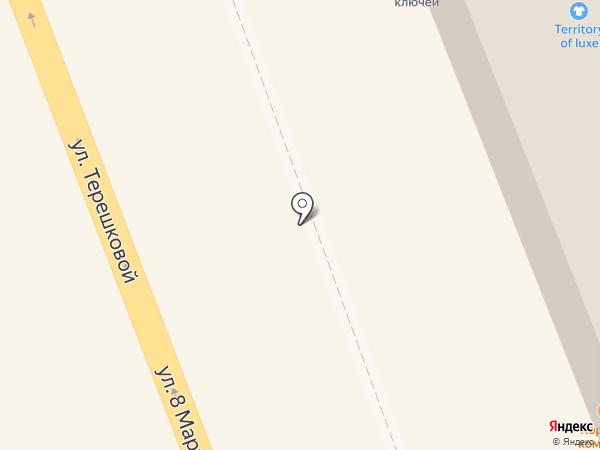 Бочка на карте Оренбурга