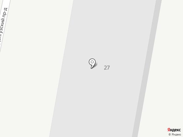 Fаворит на карте Оренбурга
