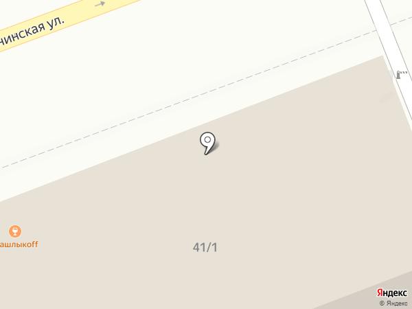 Кремэль на карте Оренбурга