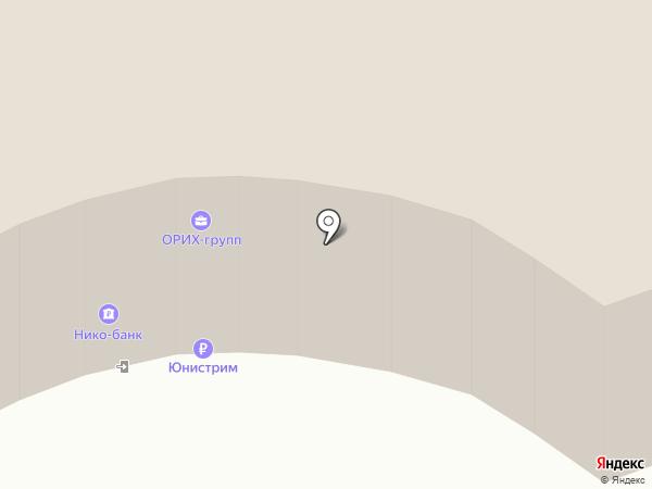 Орьрегионинвестхолдинг на карте Оренбурга