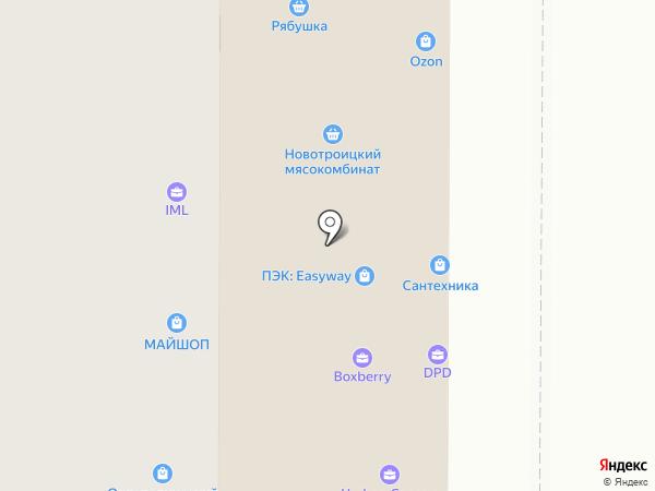 Гарден Парк на карте Оренбурга