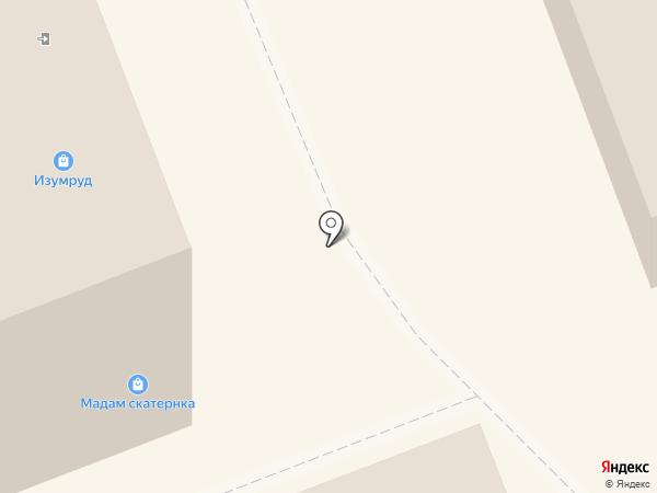Изумруд на карте Оренбурга