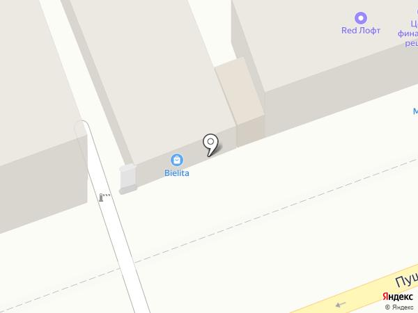 Ателье на Пушкинской на карте Оренбурга