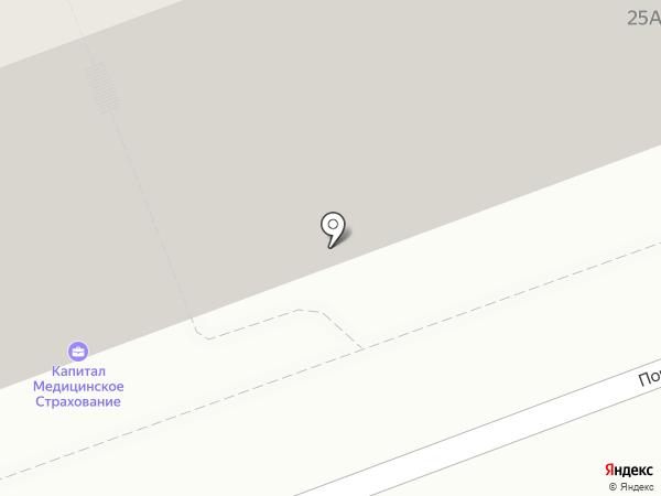 Караван на карте Оренбурга