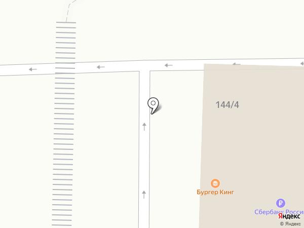Бургер Кинг на карте Оренбурга